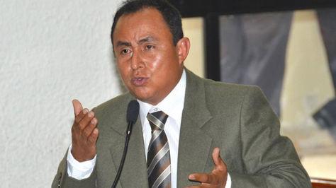 Gregorio santos, candidato peruano. Foto: www.tvperu.gob.pe