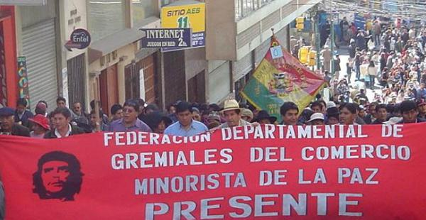 Los gremiales de Bolivia se declaran en emergencia hasta que el Gobierno derogue el decreto supremo que afecta a las personerías jurídicas
