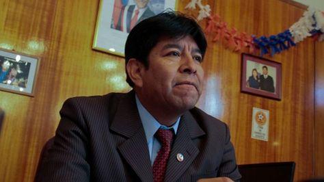 El alcalde de Atacama, Esteban Velásquez