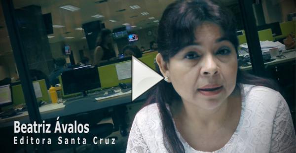 Beatriz Ávalos explica los avances de las pesquisas de la muerte de cuatro ciudadanos colombianos en Santa Cruz