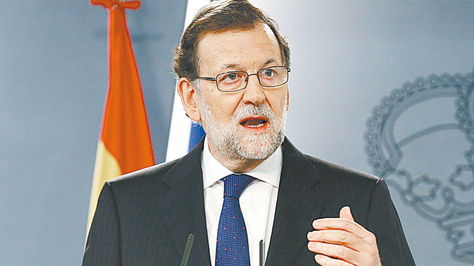 Rajoy, el líder del Partido Popular.