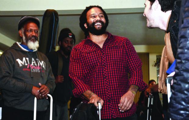 Ky-Mani Marley, el hijo de Bob Marley, se enamora de La Paz