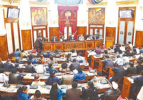 Votación. Los requisitos del reglamento fueron motivo de debate entre legisladores en la Asamblea.
