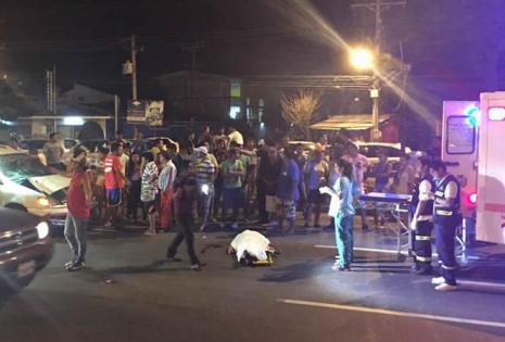 Un accidente de tránsito en la avenida Cristo Redentor provocó la muerte de una persona