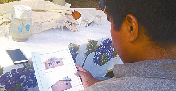 Los pobladores esperan con ansias ver sus viviendas construidas