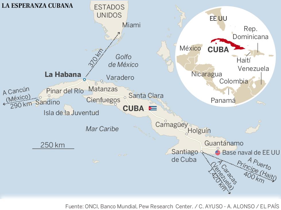 Apertura a la caribeña