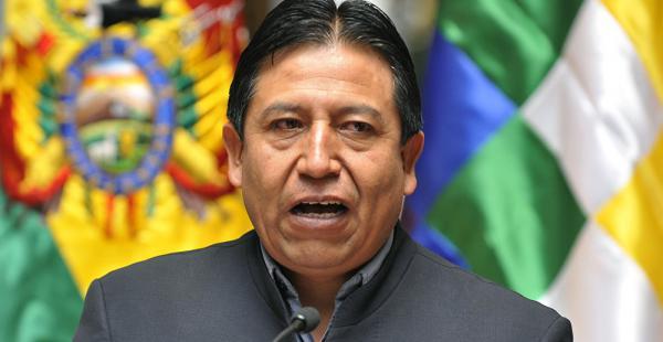 El canciller David Choquehuanca firmará un acuerdo en la reunión con autoridades rusas