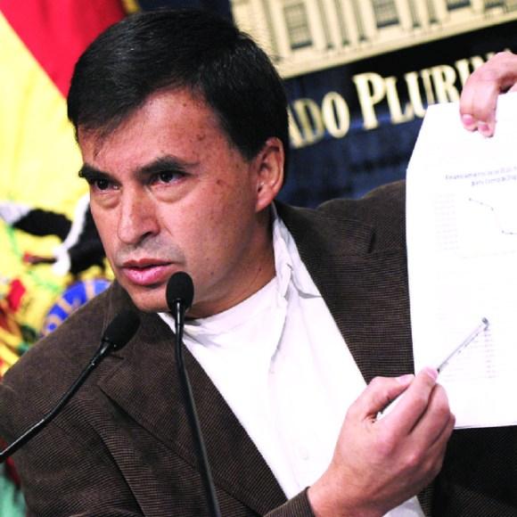 El fiscal no descarta convocar otra vez al ministro Quintana