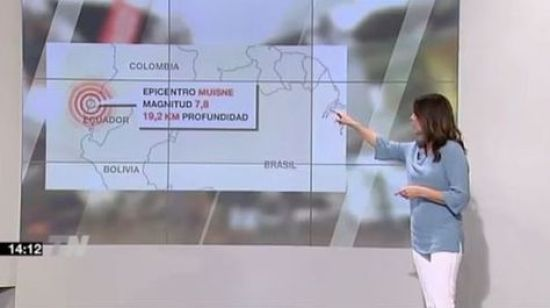 Esta es una imagen que publicó Telemadrid. Foto: lainformacion.com
