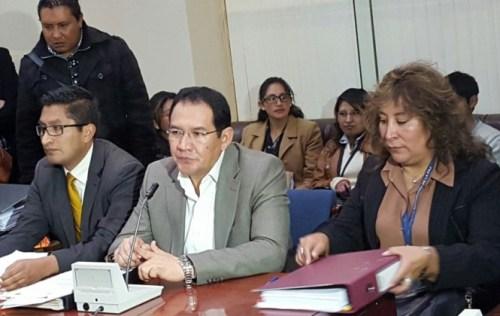 Fiscal señala que se solicitó a Entel, Tigo y Viva el registro de llamadas entre Quintana y Zapata