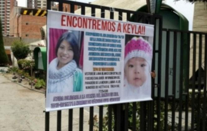 Caso Keyla: Envían a la cárcel a la mujer capturada en el operativo de Patacamaya