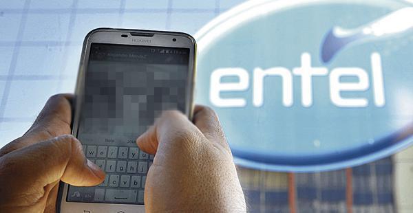 Una caída del servicio de internet de la estatal Entel se reportó la tarde de este martes. Los usuarios expresaron su molestia en redes sociales