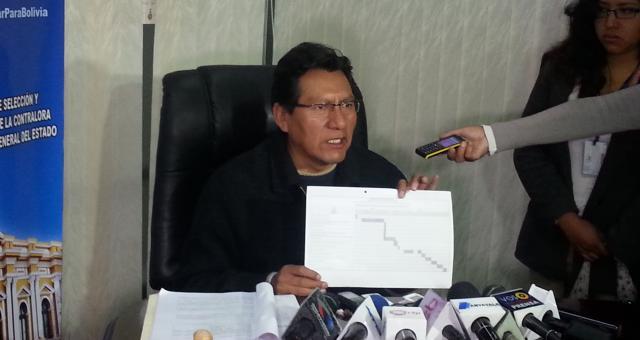 Comisión de Planificación inicia recepción de documentos de postulantes a Contralor