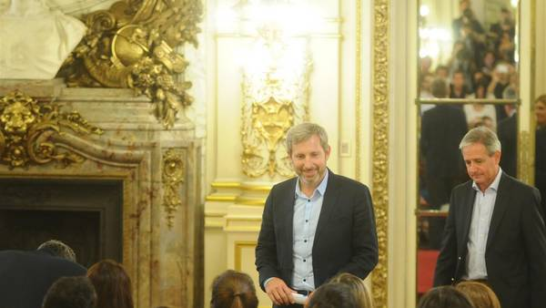 Ministro del Interior, Rogelio Frigerio (Diego Waldmann)