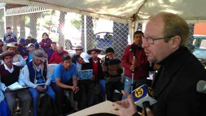 Campesinos y Gobernación acuerdan cuarto intermedio en el bloqueo por el Prosol