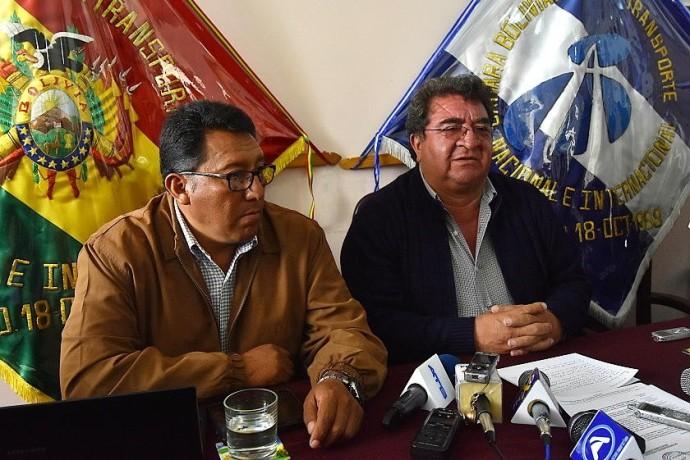 Los transportistas pesados anuncian reinicio de bloqueos desde el lunes 9 de mayo. Foto: Archivo