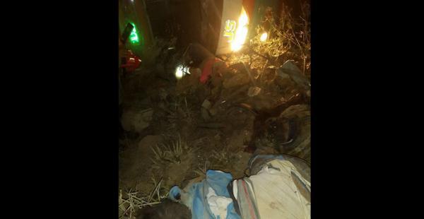 El accidente ocurrió la madrugada de este jueves cerca a la localidad de Quiña, en el municipio de Comarapa