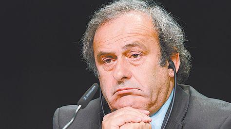 Sindicado. Platini era primer favorito para ocupar la silla de la FIFA.