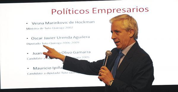 García Linera sostuvo que el trabajo a realizar será largo por la cantidad de documentos