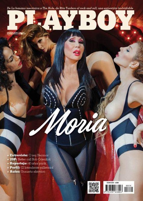 Moria Casán, Portada Playboy Argentina. Foto: twitter.com/Moria_Casan