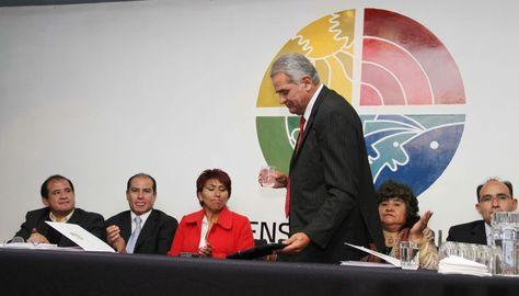 Rolando Villena cumple hoy su mandato de cinco años.