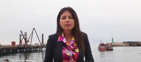 La alcaldesa Karen Rojo