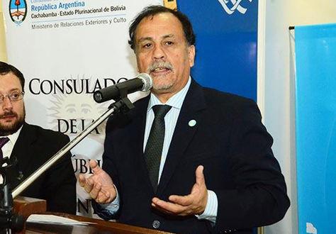 El embajador argentino Normando Álvarez