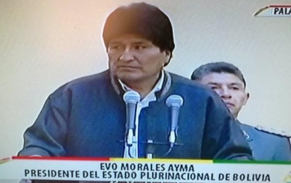 Morales señala que a veces mucho dinero se va solo en subvenciones, bonos y rentas