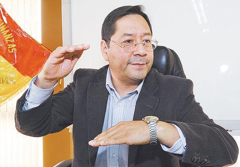 Despacho. Luis Alberto Arce Catacora en entrevista con La Razón.