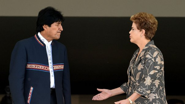 Evo Morales se siente indignado por impeachment a Dilma Rousseff