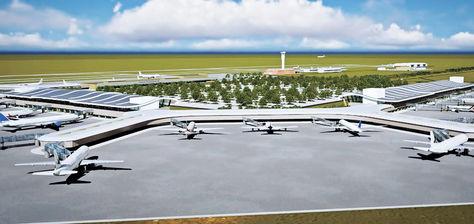 Crecimiento. Las imágenes 3D muestran cómo quedará el nuevo Aeropuerto Intercontinental de Viru Viru.
