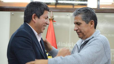 Posesión de Edmundo Novillo como responsable de Transparencia del Ministerio de Hidrocarburos