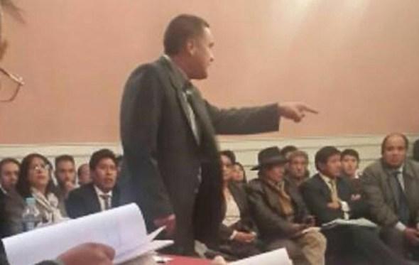 Jueza remite al Ministerio Público antecedentes de dos jueces que se excusaron en el caso León