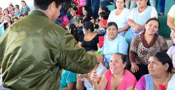 Las mujeres que están en el penal fueron agasajadas el miércoles por las autoridades