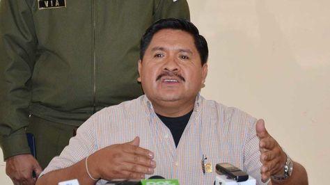 El viceministro de Defensa Social Felipe Cáceres.