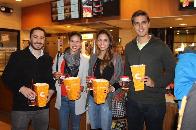 Mario Kempff, Mariana Chávez, Ana Belén Cronembold y Reyes Antelo