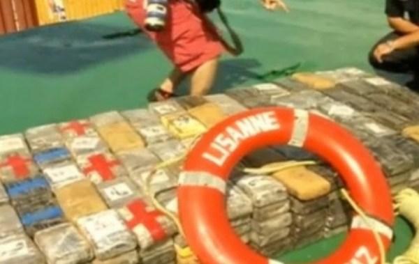 Oposición pide explicación por el uso de bandera de Bolivia en buque que llevaba cocaína