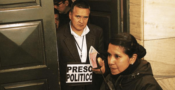 Eduardo León, exabogado de Gabriela Zapata, actualmente con orden de detención preventiva en la cárcel de San Pedro