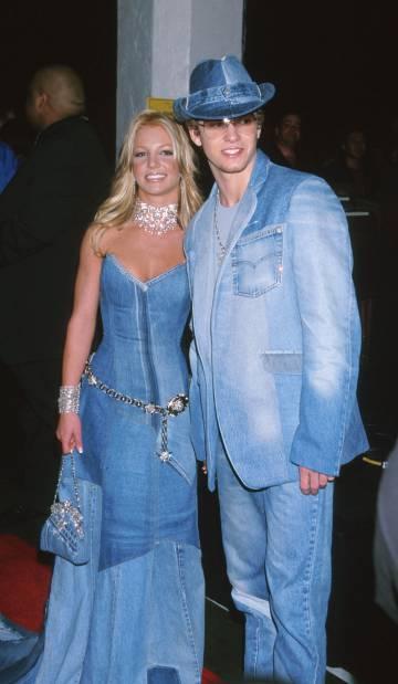 Britney Spears y Justin Timberlake, conjuntados en la alformbra roja de unos premios en 2011, cuando eran pareja.