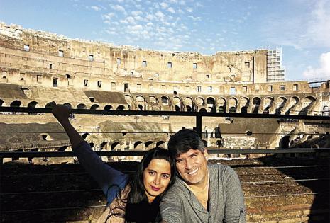 El coliseo romano en todo su esplendor.