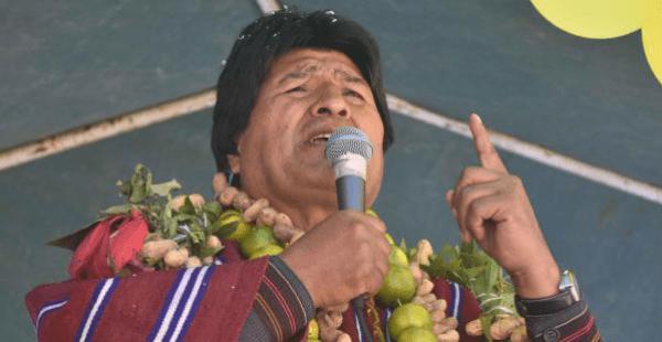 Evo Morales segundo tiempo