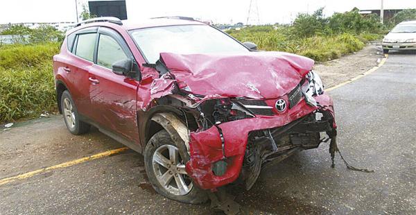 La vagoneta Toyota que se estrelló y provocó una muerte en la vía al norte fue robada minutos antes
