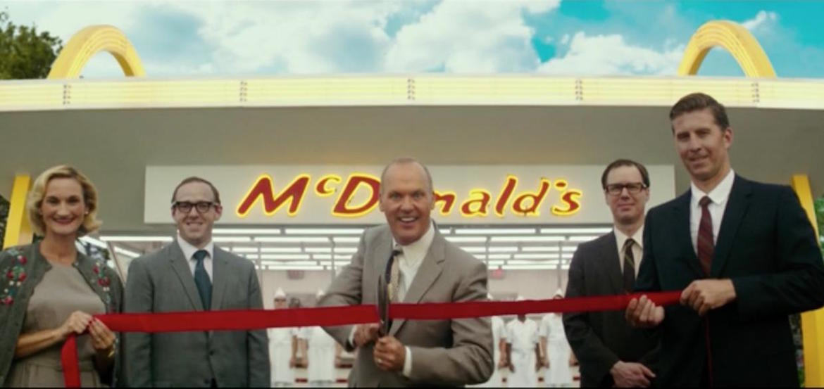 Michael Keaton interpreta a un implacable Ray Kroc en el nuevo film biográfico de los hermanos Weinstein