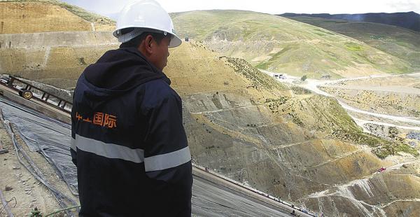La comisión parlamentaria visitó Potosí, donde la empresa CAMC ejecuta obras para el Estado