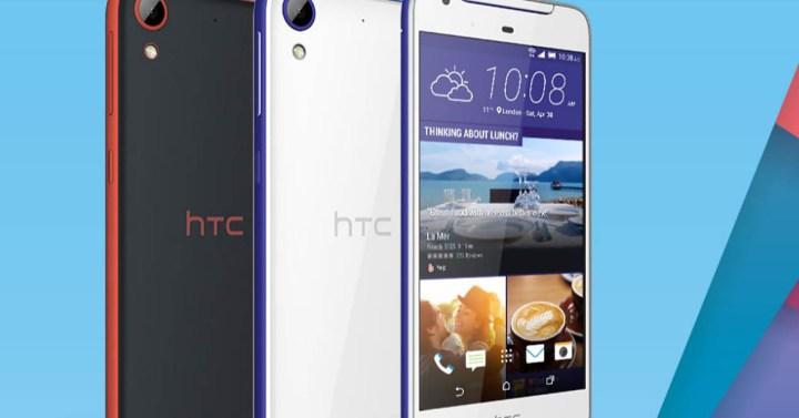 HTC Desire 628 en distintos colores
