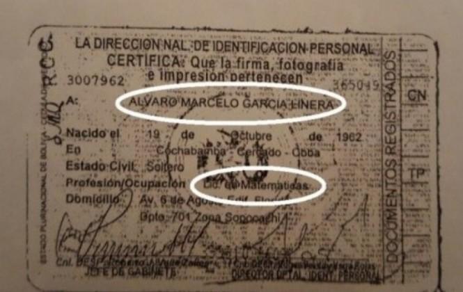 """García Linera dice que figura como licenciado por """"correcciones o errores"""" de funcionarios"""