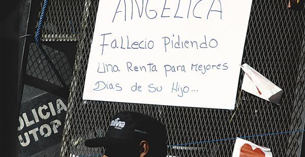 El recuerdo de los compañeros de lucha de Angélica Peñaloza