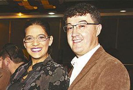 Eliana Terrazas Con su esposo, Remmer Chávez