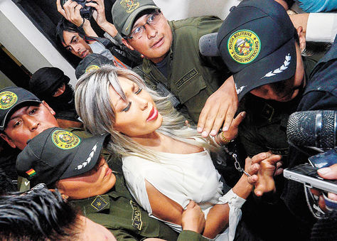 Juzgado. A Zapata le rechazaron ayer una acción de libertad.