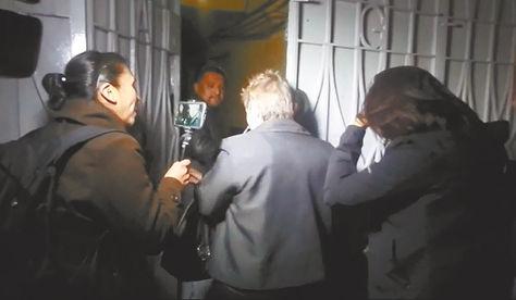 La familiar de Zapata fue detenida en su residencia en la zona Sur,tras un operativo.